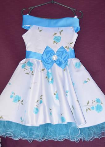 Платье бальное детское Ретро 7-10 лет, фото 2