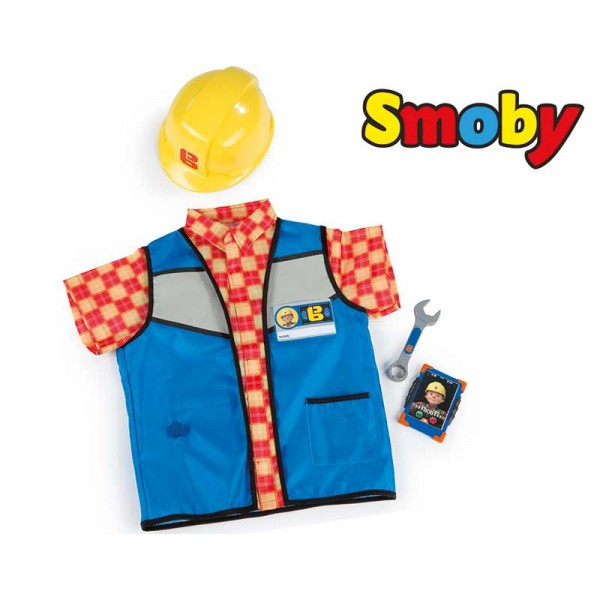 Жилет с каской Bob the Builder Smoby 380300
