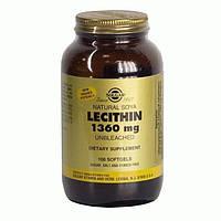 Лецитин соевый натур.капс. N100 фл. , Солгар / Solgar