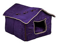 Домик - пещера Trixie 36333 Hilla фиолетовый