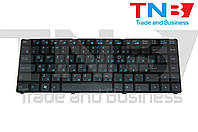 Клавиатура Asus UL20 UL20A UL20FT U20 Eee PC 1201HA 1215 1215B 1215N 1215T черная с черной рамкой RU/US