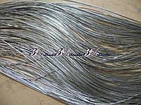 Шнур декоративный 0,2 см серебро