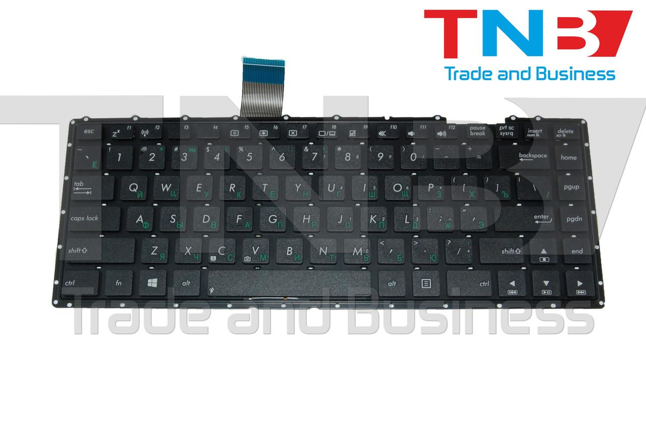 Клавиатура Asus X401 X401A X401U F401 F401A F401U черная без рамки RUUS