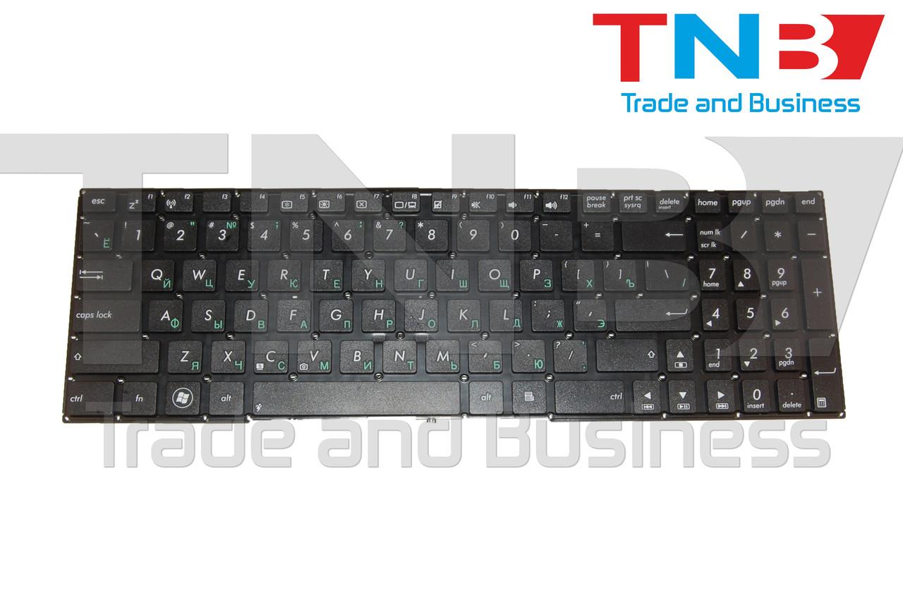 Клавиатура ASUS X501, X552, X750 series черная без рамки RUUS
