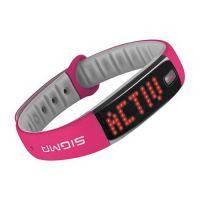 Фитнес-браслет Sigma Activo Розовый/Серый