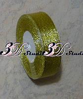 Лента парча золото 2,0 см