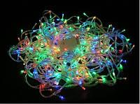 Гирлянда новогодняя светодиодная  LED 300M Цветная