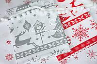Хлопковые ткани Новогодние (ссылки для заказа в описании)