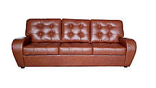 Комплект шкіряних меблів Вінс. (3р+1+1), фото 3