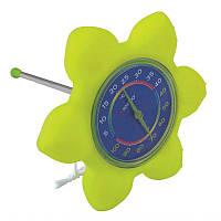 """Термометр плавающий """"Цветок"""" Kokido."""
