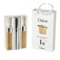 Мини парфюмерия Chloe Eau De Parfum (Хлое О Де Парфюм) с феромонами + 2 запаски, 3x15 мл