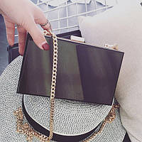 Красивая черная сумочка для женщин. Высокое качество. Стильный дизайн. Сумка на плечо. Купить. Код: КДН1052
