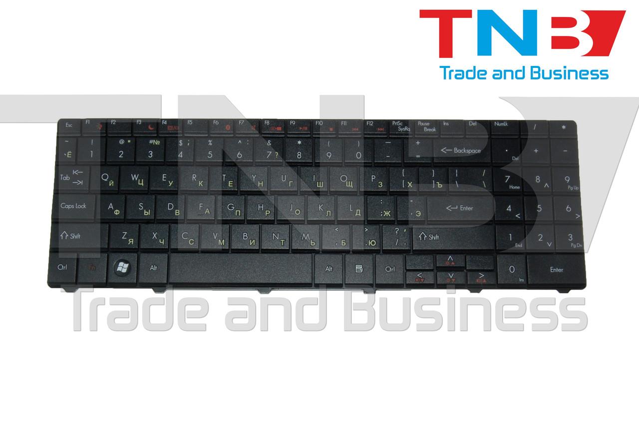 Клавиатура Gateway NV52 NV53 NV56 NV57 NV59 PACKARD BELL DT85 LJ61 LJ65 LJ67 LJ71 LJ75 TJ61 черная RUUS