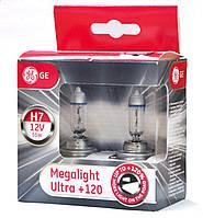 GE Megalight Ultra +120% / тип лампы Н7 / 2шт.