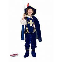 """Детский карнавальный костюм для мальчика """"Мушкетер"""" 7 лет ТМ Veneziano 1046"""