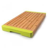 Разделочная доска с желобками BergHOFF 40х22 см (бамбук) (1101729)