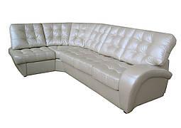 Модульный кожаный диван Винс