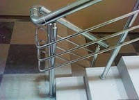 Алюминиевые ограждения лестниц