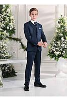 Костюм классический для мальчика 6-14 лет (брюки, пиджак, жилет, рубашка, галстук) р. 116-164 ТМ Les Gamins CM753292