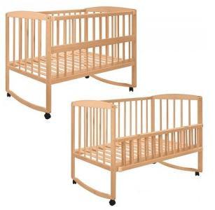Детская кроватка 2659 на колесиках