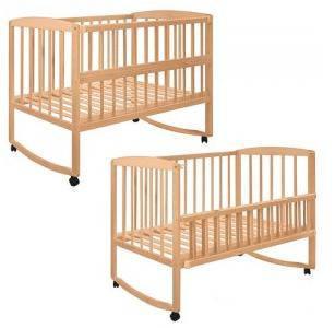 Детская кроватка 2659 на колесиках, фото 2