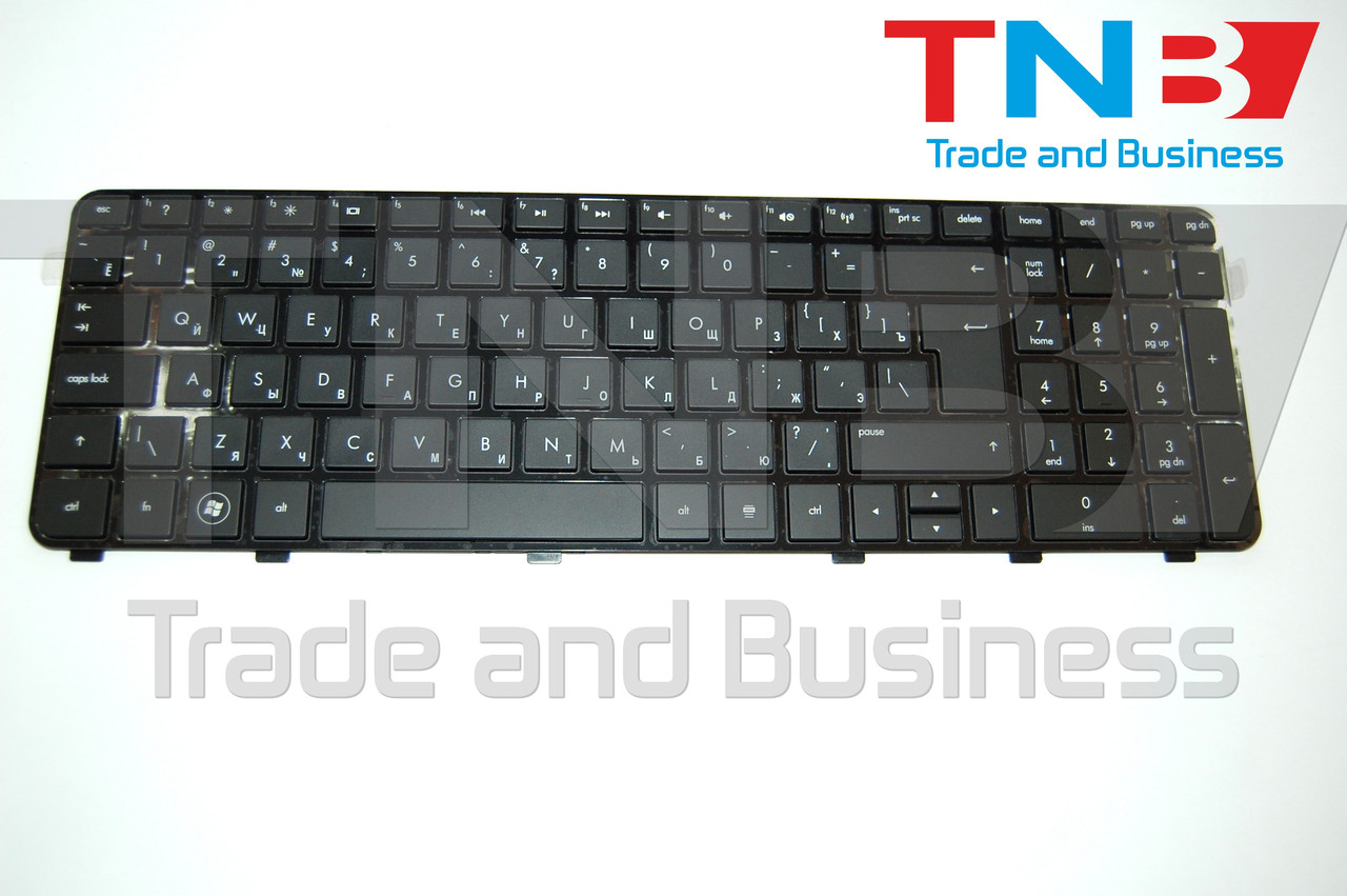 Клавиатура HP DV6 -6123 -6B08 Z-6100 черная