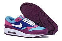 Кроссовки Nike Air Max 87 сине-голубые, фото 1