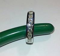 Белое золото и бриллианты/Кр57/10штук по 3mm/1,1ct