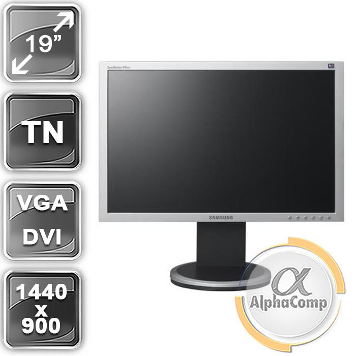 "Монитор 19"" Samsung 940BW (16:10/VGA/DVI) class A БУ"