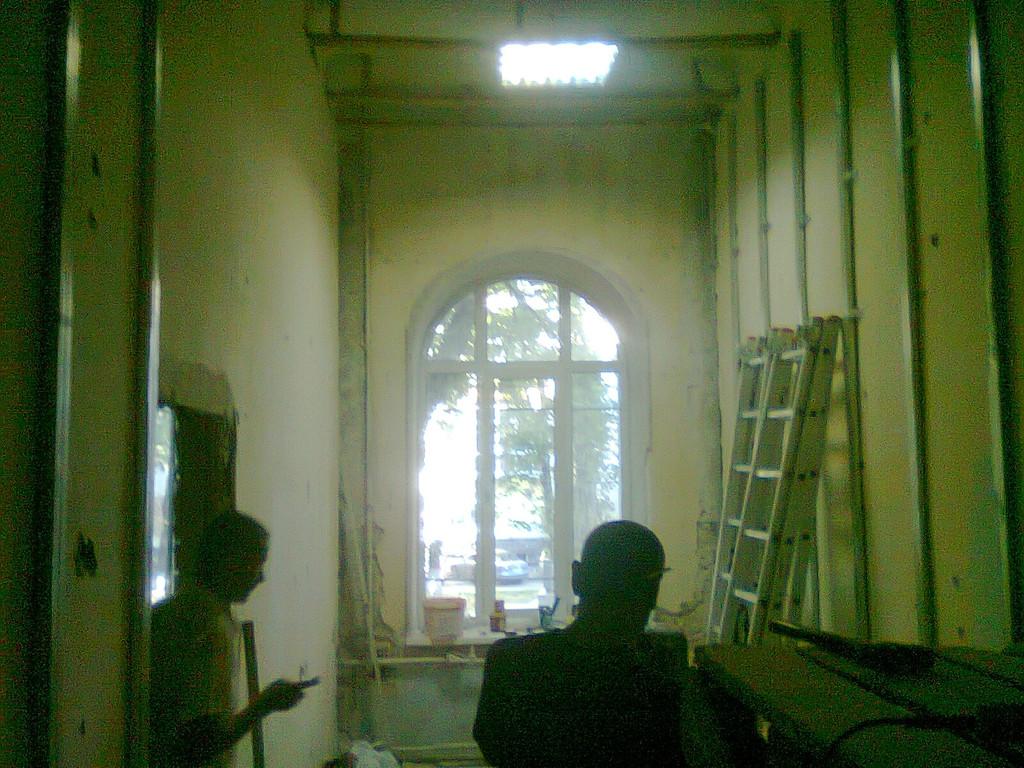 капитальный ремонт в кабинетах г.Киев судебной администрации Украины на ул. Липской 18\5