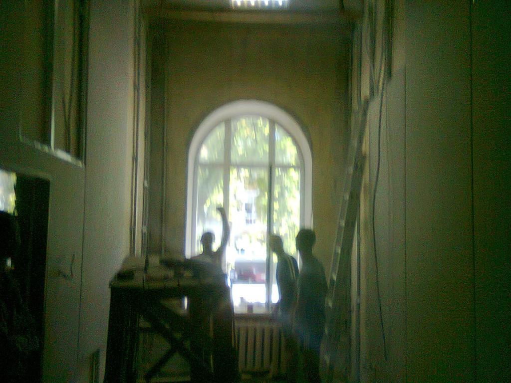 капитальный ремонт в кабинетах г.Киев судебной администрации Украины на ул. Липской 18\5 2