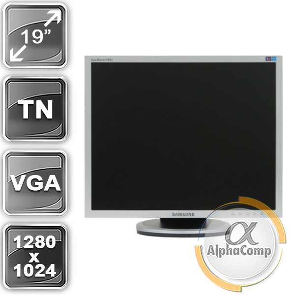 "Монитор 19"" Samsung 940N (5:4/VGA) class A БУ"