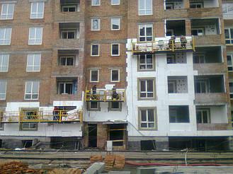 Утепления фасада жк Акварель г.Киев 2000кв.м сроки 45дней