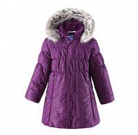 Пальто зимнее для девочки Lassie by Reima 721698, цвет 4981