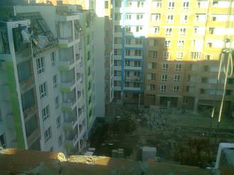 Утепления фасада жк Акварель г.Киев 2000кв.м сроки 45дней 9