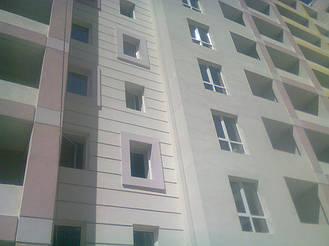 Утепления фасада жк Акварель г.Киев 2000кв.м сроки 45дней 15