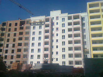 Утепления фасада жк Акварель г.Киев 2000кв.м сроки 45дней 17