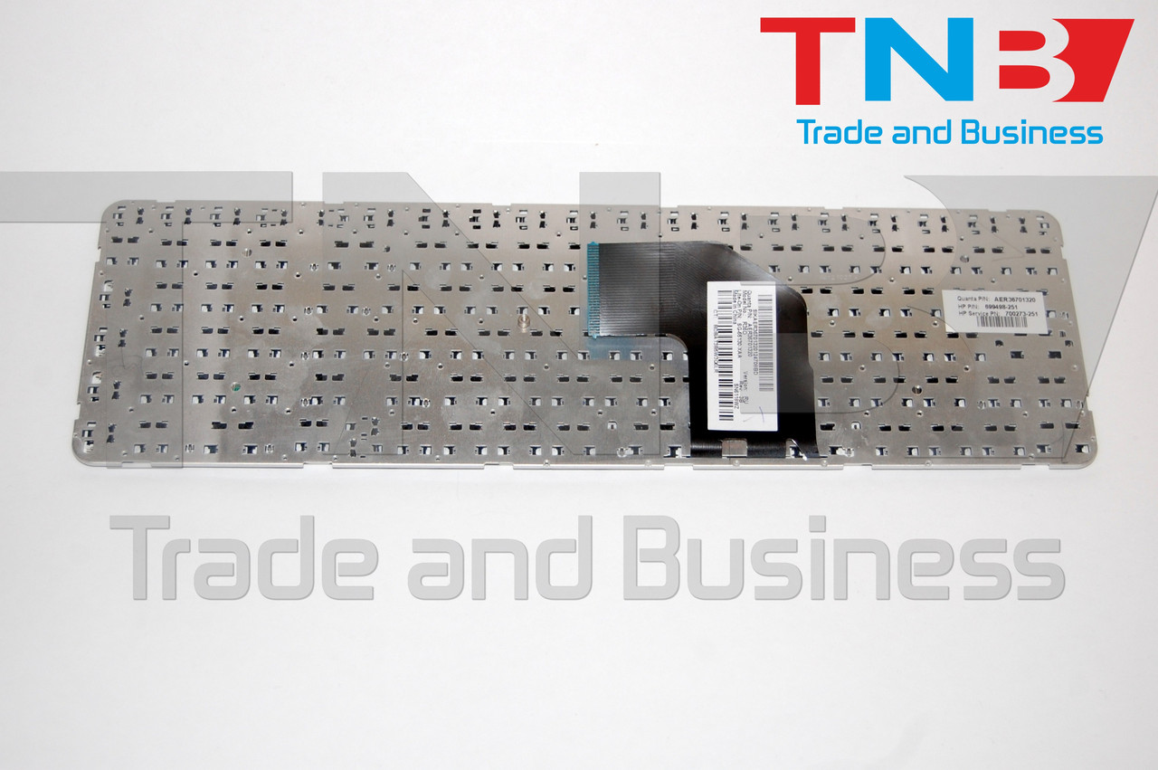 Клавиатура HP g6-2053 g6-2240 g6-2341 белая