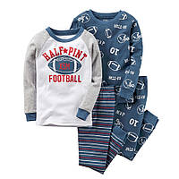 Комплект хб пижам Carters (Картерс) Футбол (5Т)