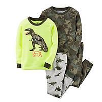 Комплект хб пижам Carters (Картерс) Динозавр (24М)