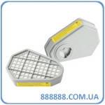 Газовый фильтр для респиратора (кислотный, 8-ми угольный) 91-135 Miol