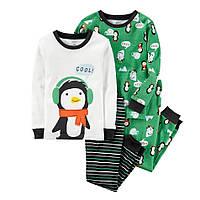 Комплект хб пижам Carters (Картерс) Пингвинчик (р.2Т)