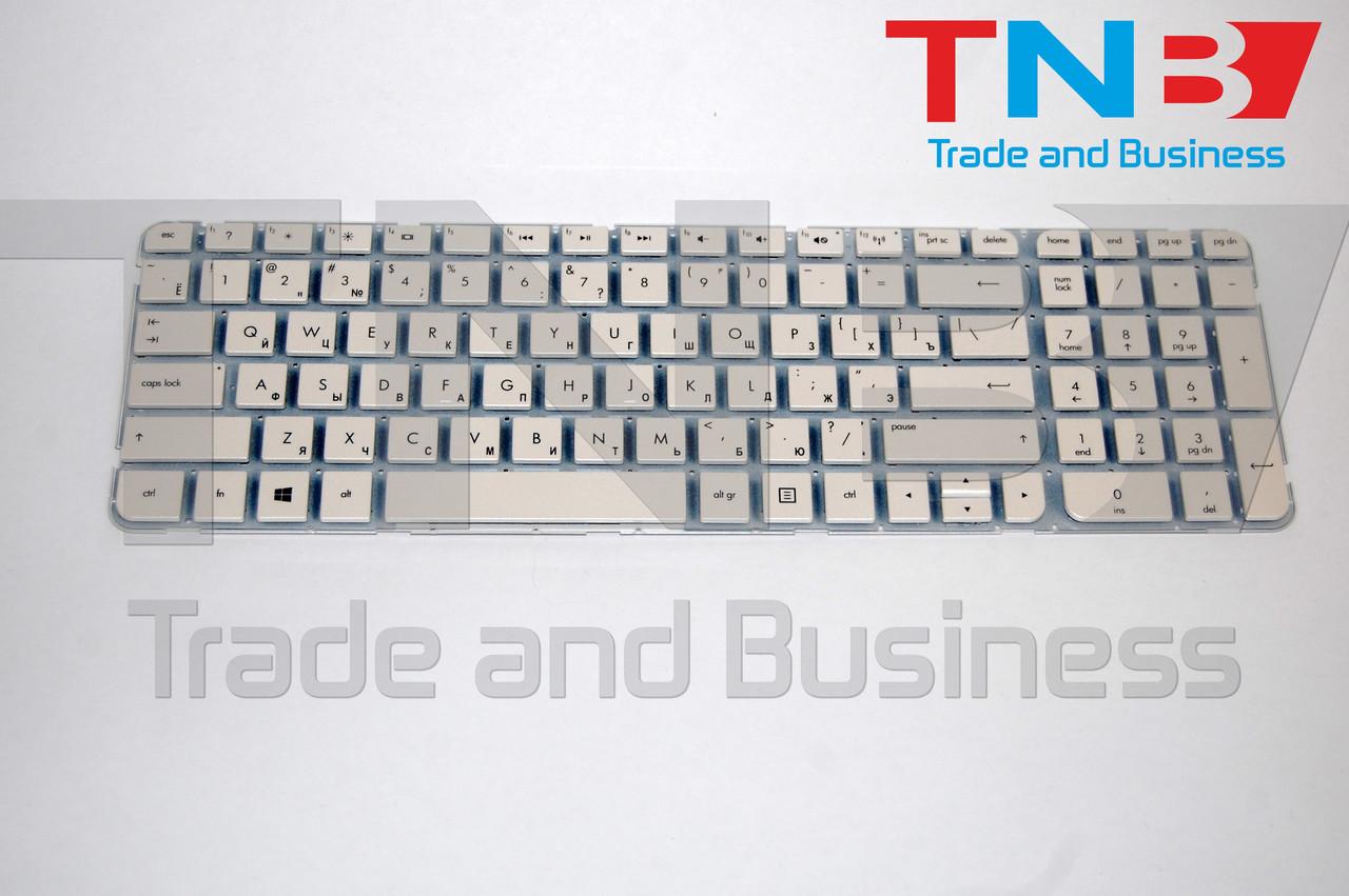 Клавиатура HP g6-2165 g6-2302 g6-2379 белая