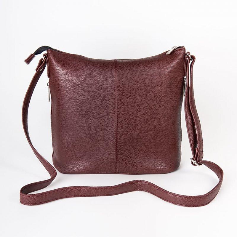 5afd30f54e76 Бордовая сумка М78-38 планшет наплечная средняя: продажа, цена в ...