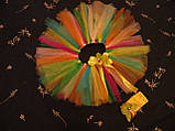 Кольорова спідниця -пачка для дівчинки, фото 3