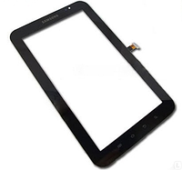 """Тачскрин 7"""" (сенсорное стекло) Samsung Galaxy Tab P1000 для планшета, черный"""