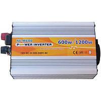 Инвертор преобразователь напряжения 12-220 Вольт 500Вт NV-M500