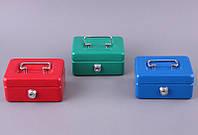 """Копилка-ящик для хранения денег и драгоценостей с ключем 13х9х6 см. """"Box"""" разные цвета"""