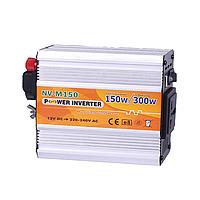 Инвертор преобразователь напряжения 12-220 Вольт 150Вт NV-M150