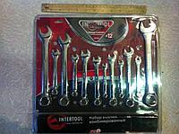 Набор комбинированных ключей INTERTOOL XT-1512